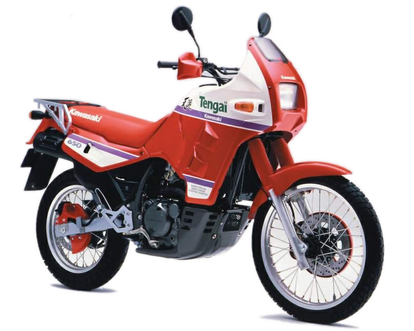 Moto del día: Kawasaki KLR 650 Tengaï