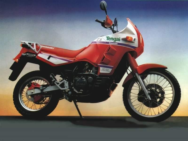 Kawasaki KLR 650 Tengai 2