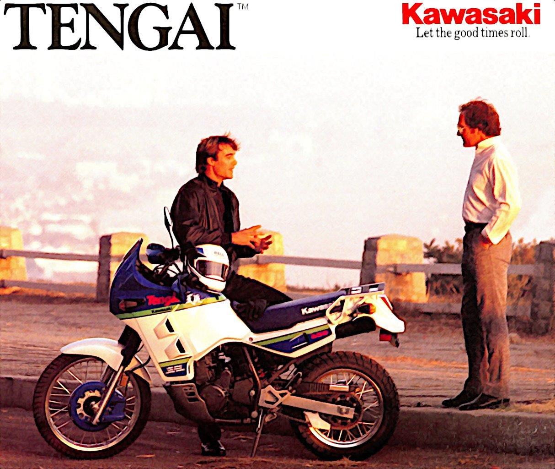 Kawasaki KLR 650 Tengai 3