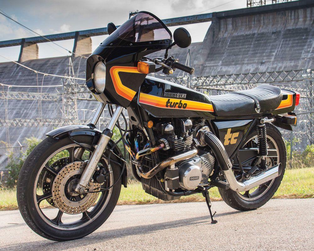 Moto del día: Kawasaki Z1R-TC
