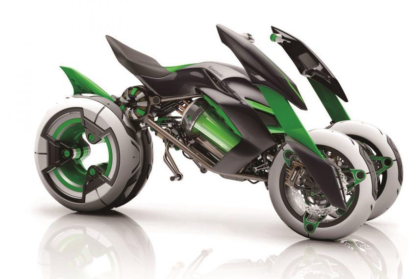 Kawasaki tendrá una moto de cuatro ruedas