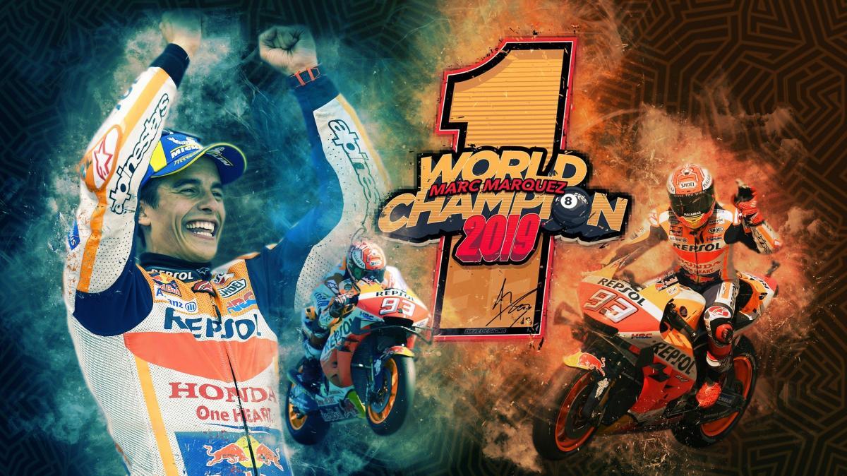 Marc Márquez, Campeón del Mundo de MotoGP 2019