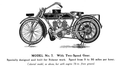 Matchless Model 7 8HP 4