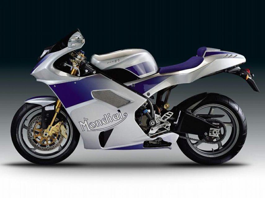 Moto del día: Mondial Piega 1000