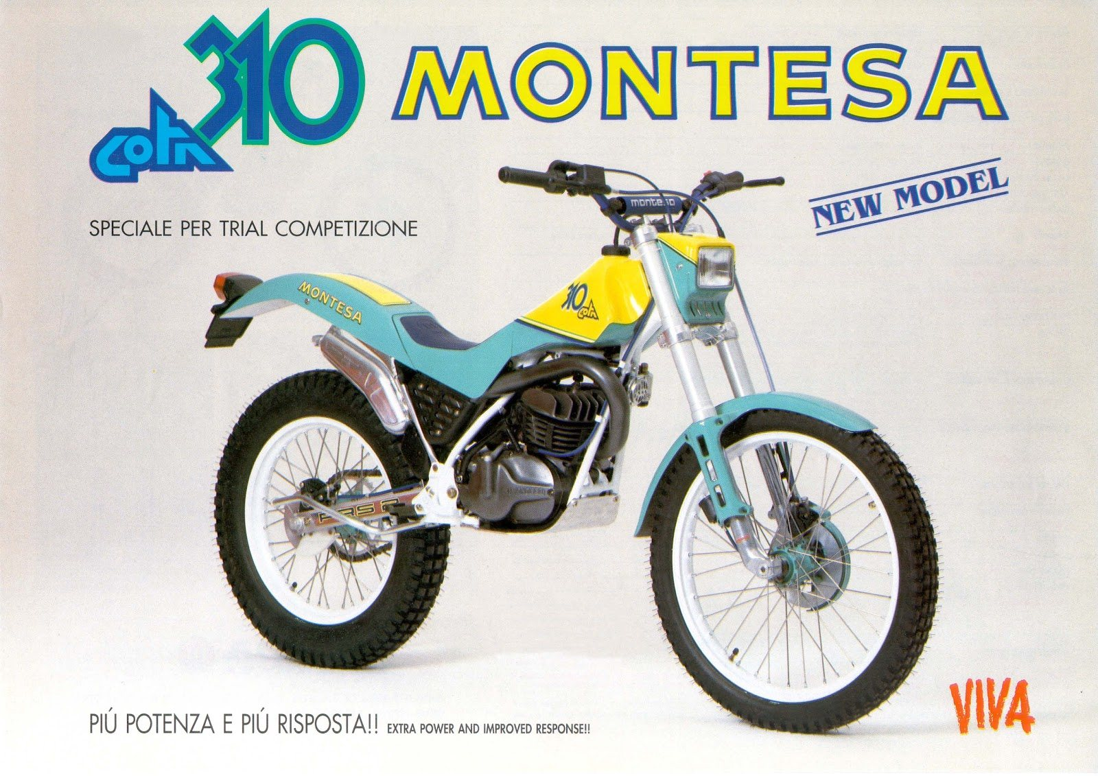 Moto del día: Montesa Cota 310