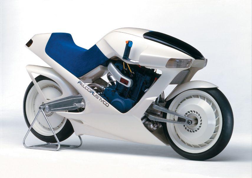 Moto del día: Suzuki Falcorustyco