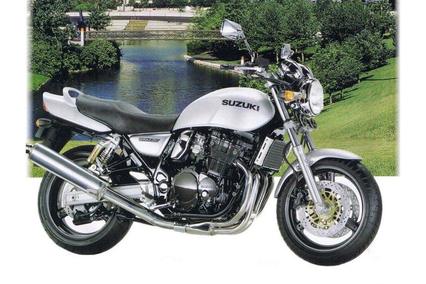 Moto del día: Suzuki GSX 750 (1997)