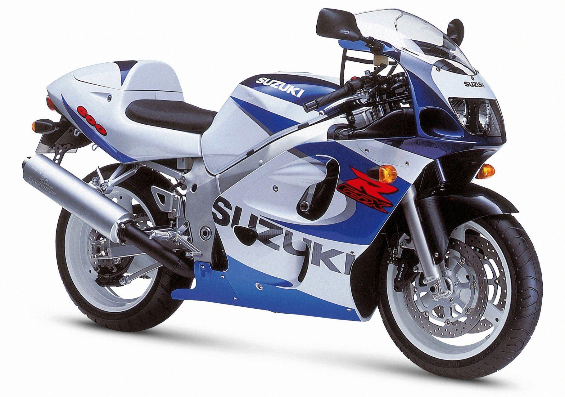 suzuki gsx r 600 srad 4