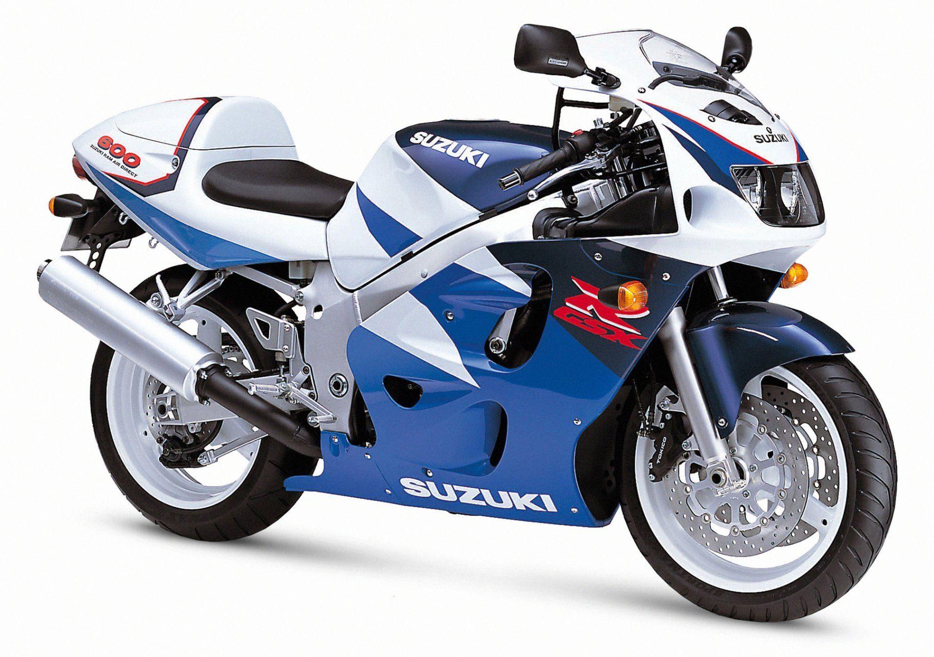 suzuki gsx r 600 srad 7