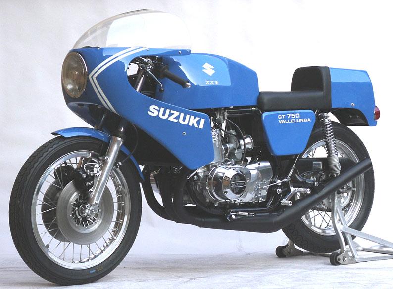 Moto del día: Suzuki-SAIAD 750 Vallelunga