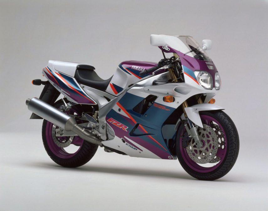 Moto del día: Yamaha FZR 1000