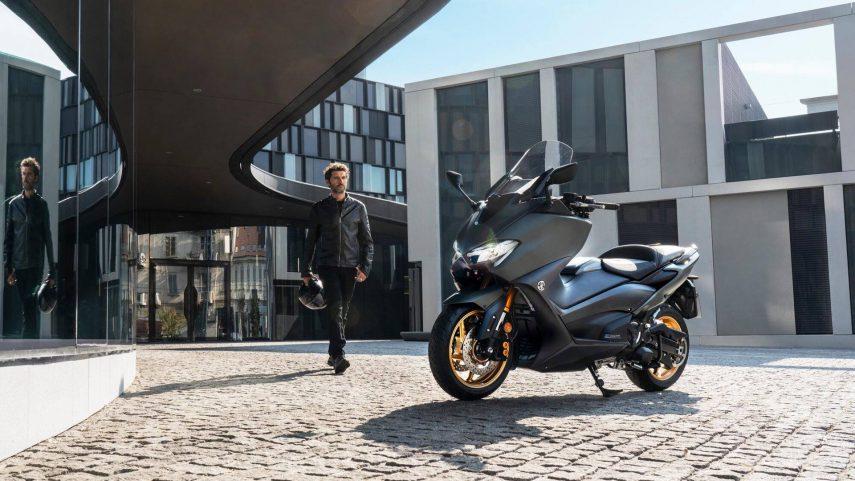 Yamaha TMAX 560 2020, más potencia y deportividad