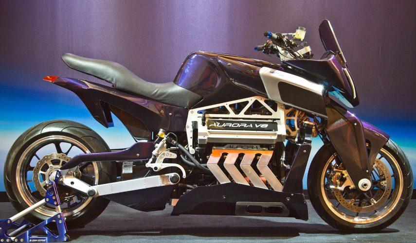 Moto del día: Aurora Hellfire OZ26 V8