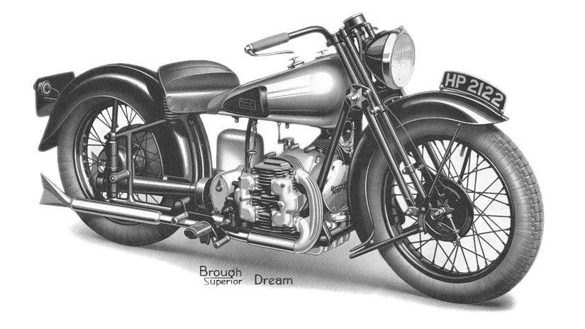 Moto del día: Brough Superior Golden Dream
