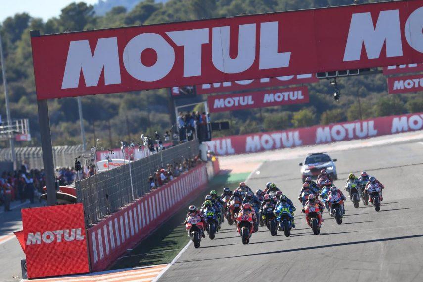 Horarios para el Gran Premio de Valencia de MotoGP 2019