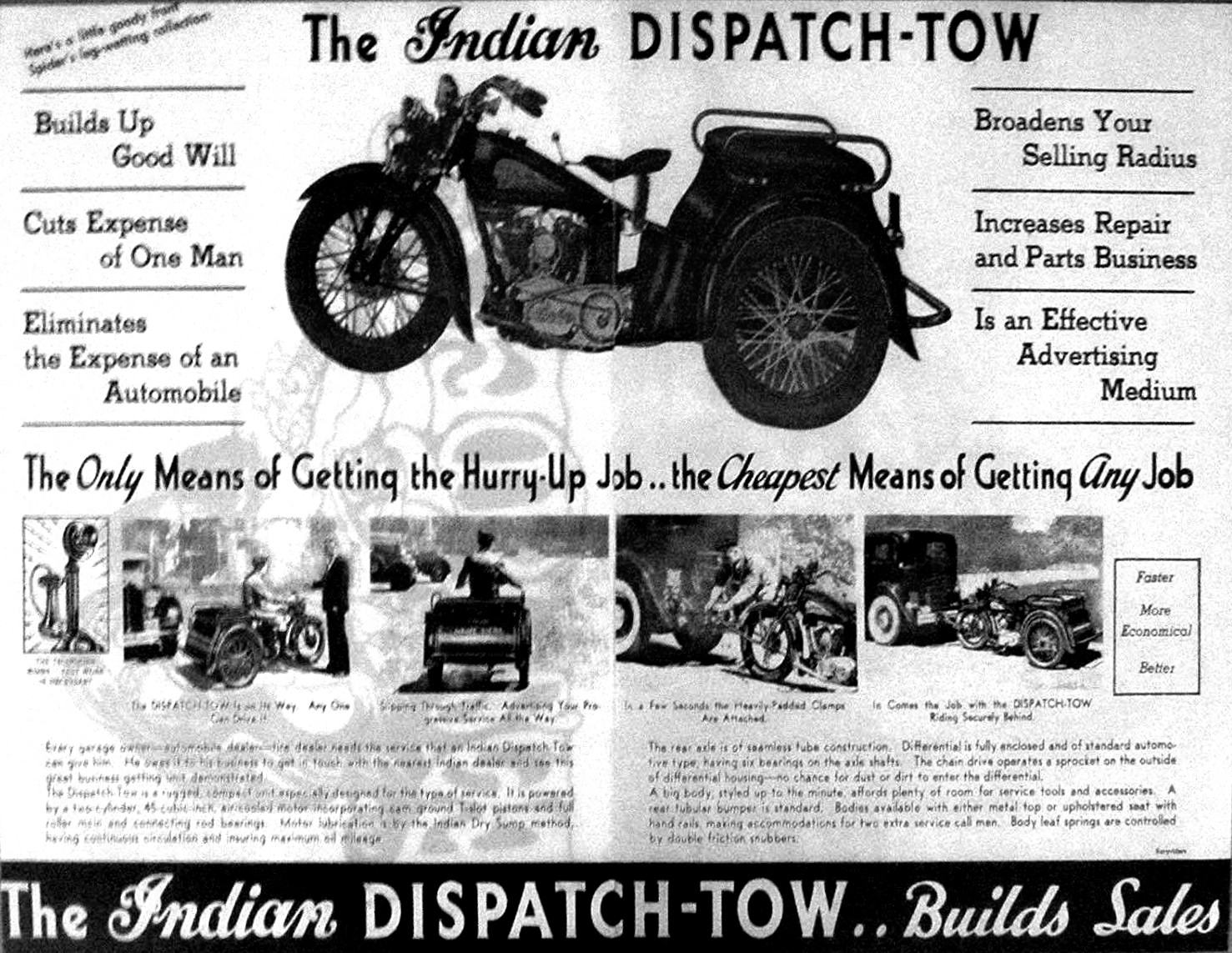Indian Dispatch Tow 4