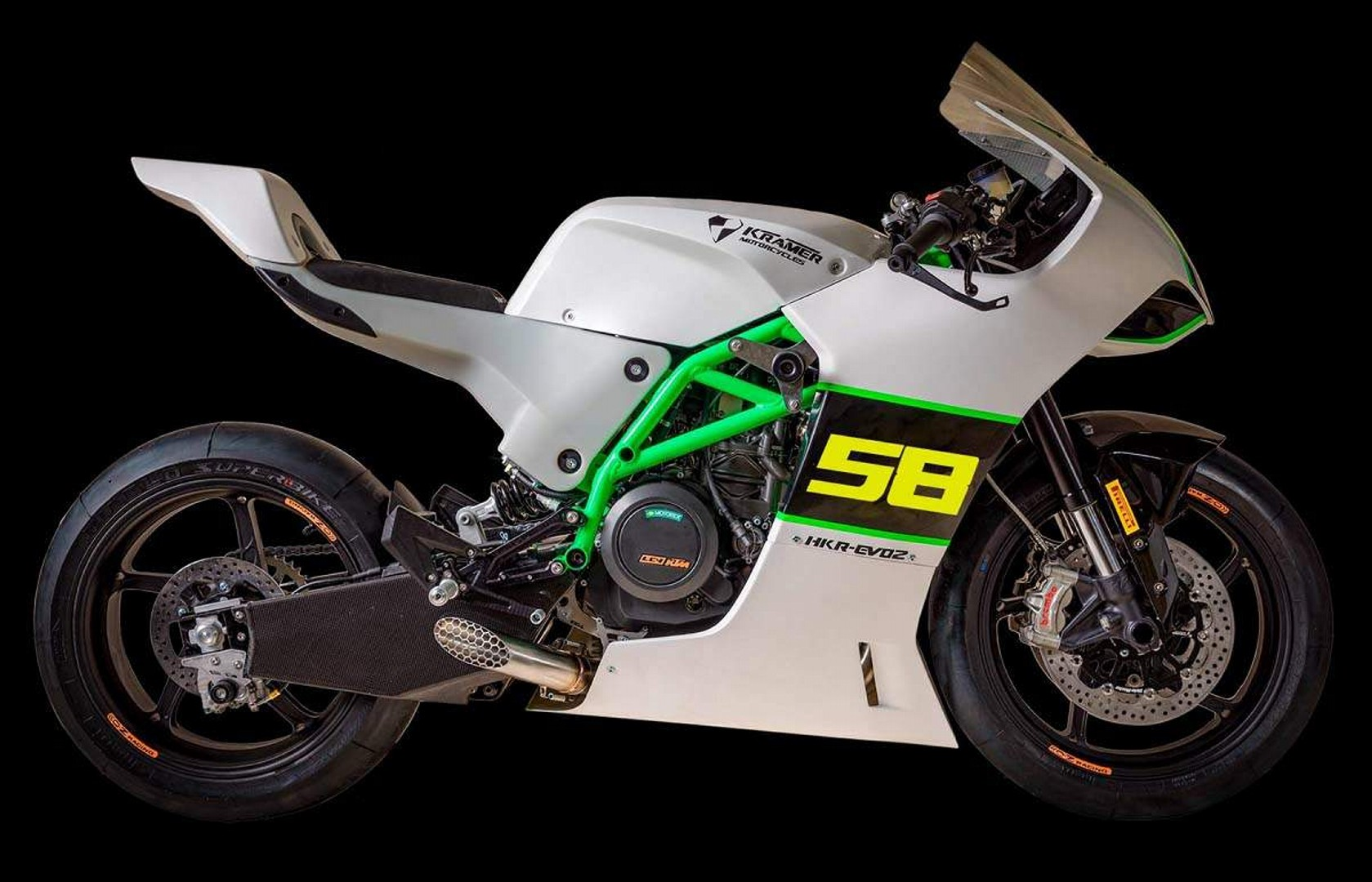 Moto del dia: Horex 644 Osca espíritu RACER moto