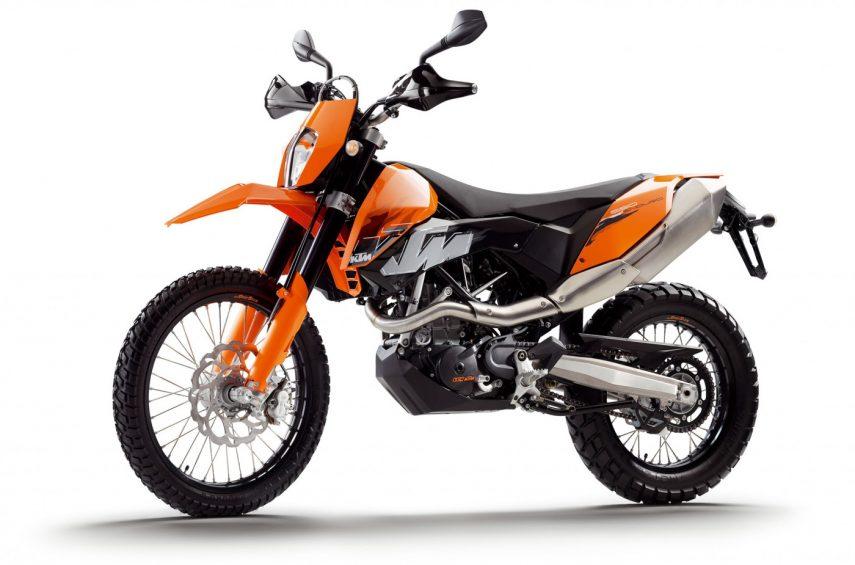 Moto del día: KTM 690 Enduro (2008)