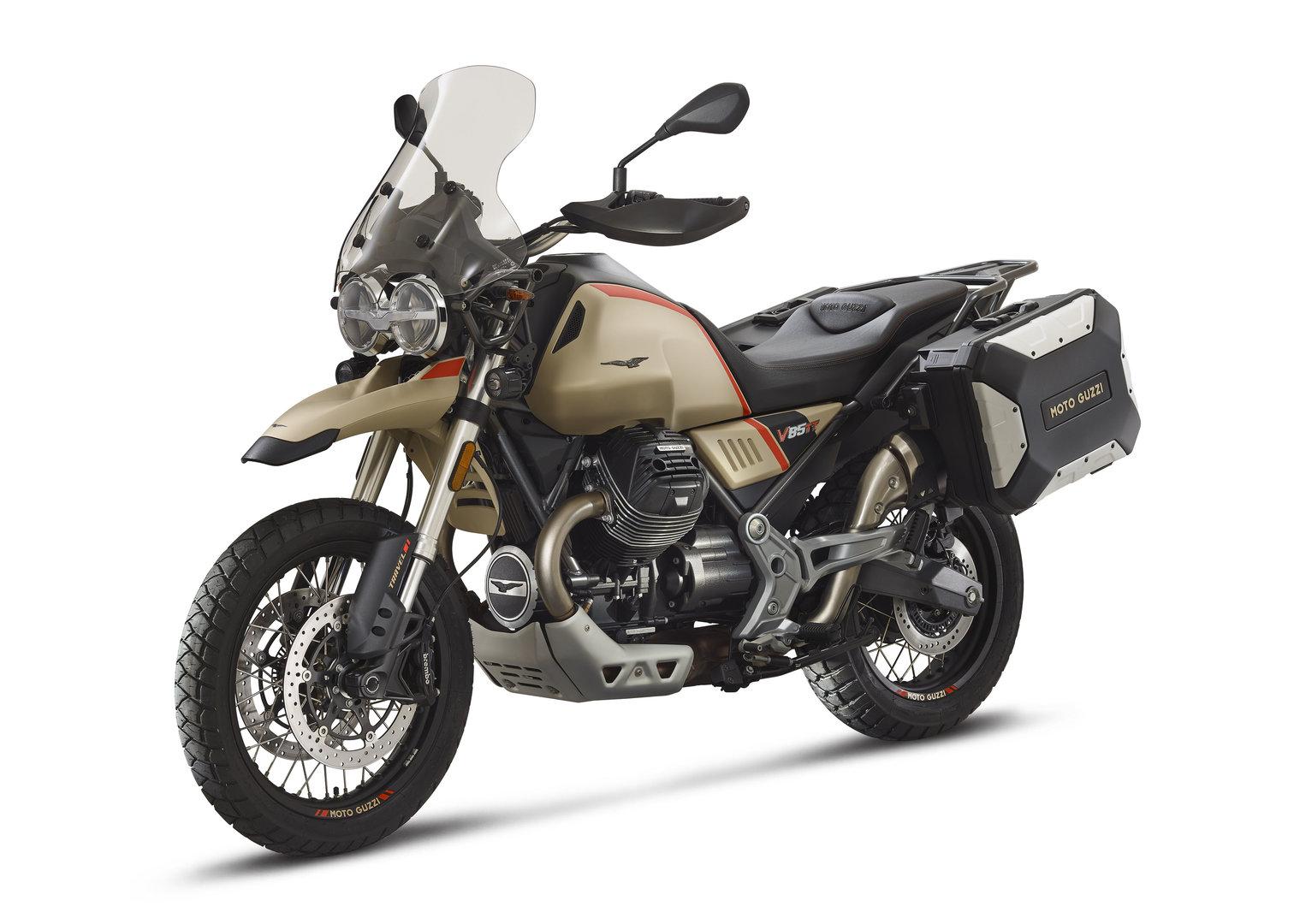 Moto Guzzi V85 TT Travel, dedicada a los amantes de las largas distancias