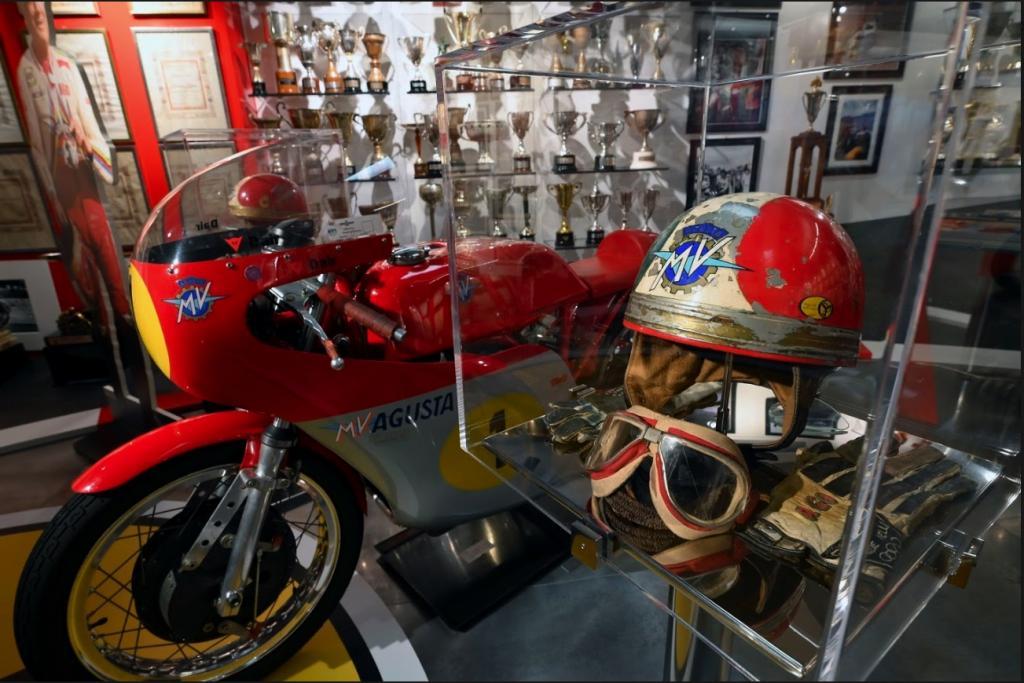 Giacomo Agostini ya tiene museo en Bérgamo, su ciudad natal