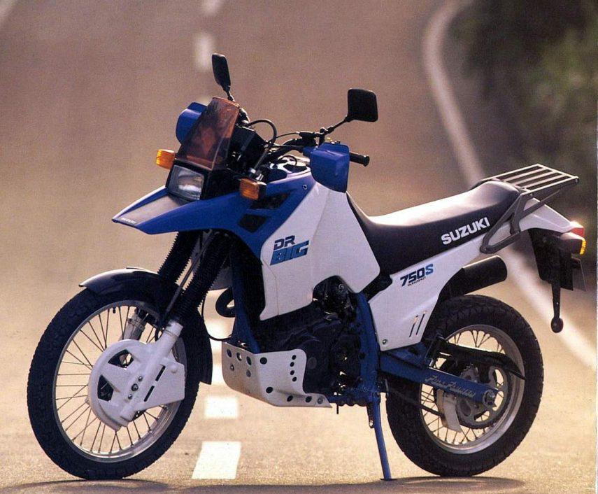 Moto del día: Suzuki DR 750 Big