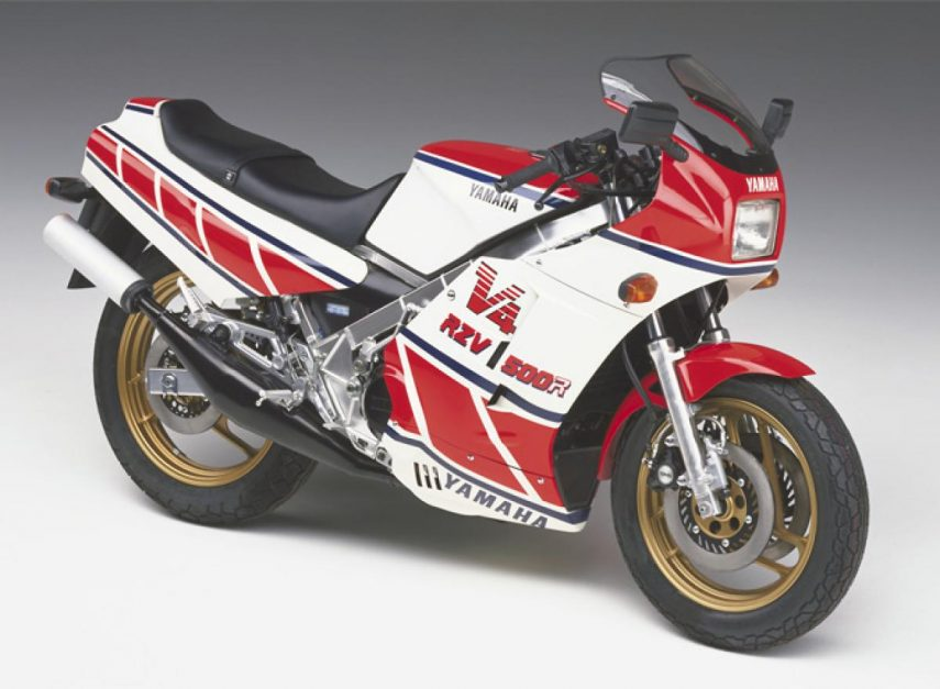 Moto del día: Yamaha RZV 500 R
