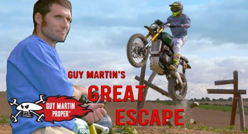 Guy Martins Great Escape Trailer Guy Martin Proper