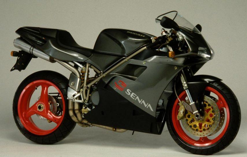 Moto del día: Ducati 916 Senna