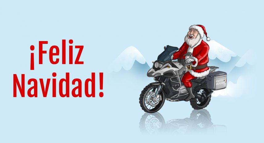 Feliz Navidad moto