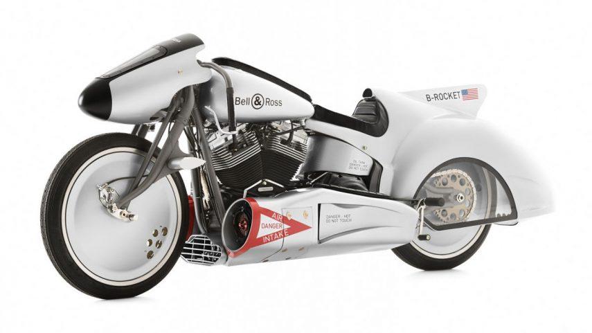 Moto del día: Harley-Davidson B-Rocket Concept Bell&Ross