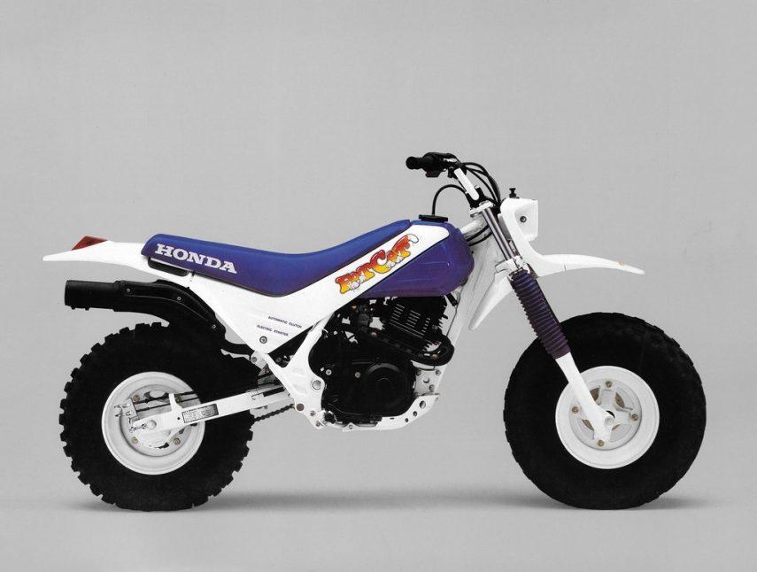 Moto del día: Honda TR 200 Fat Cat