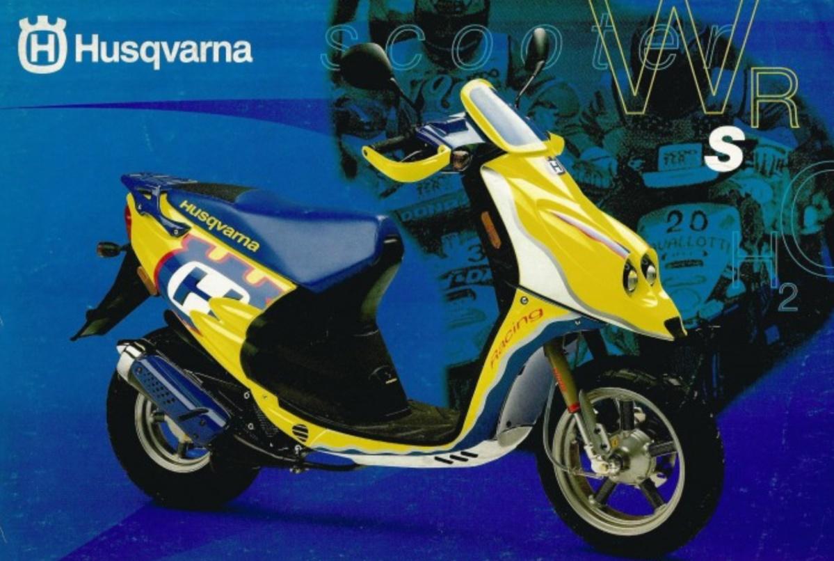 Moto del día: Husqvarna WRS 50