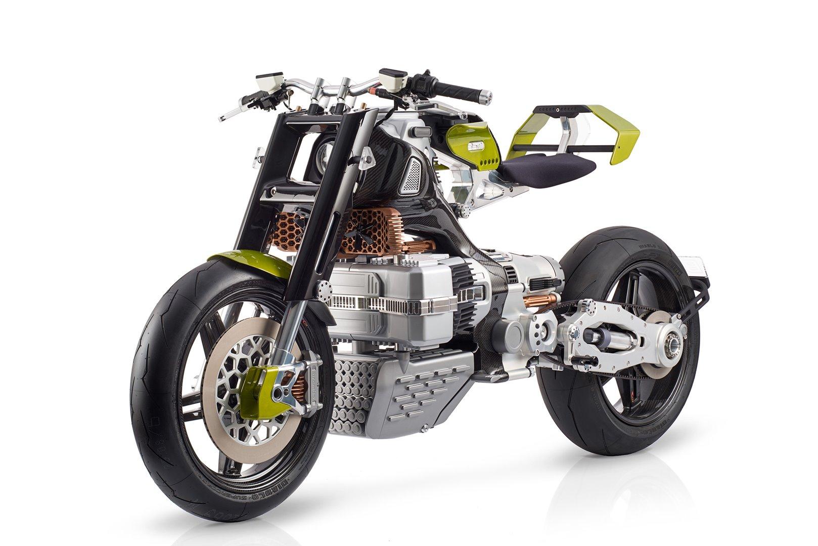 BST HyperTEK, la moto eléctrica del futuro según Pierre Terblanche
