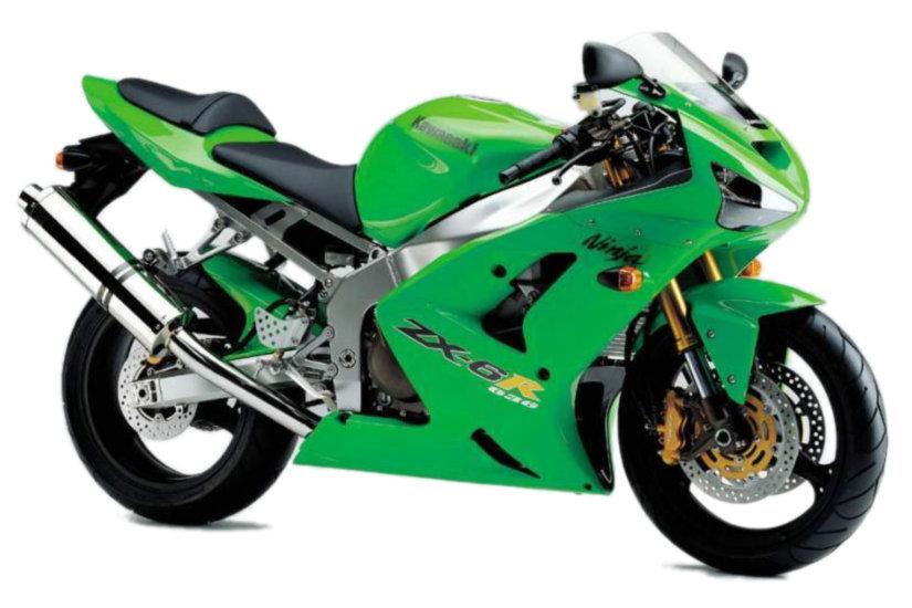 Moto del día: Kawasaki ZX-6R Ninja (2003)