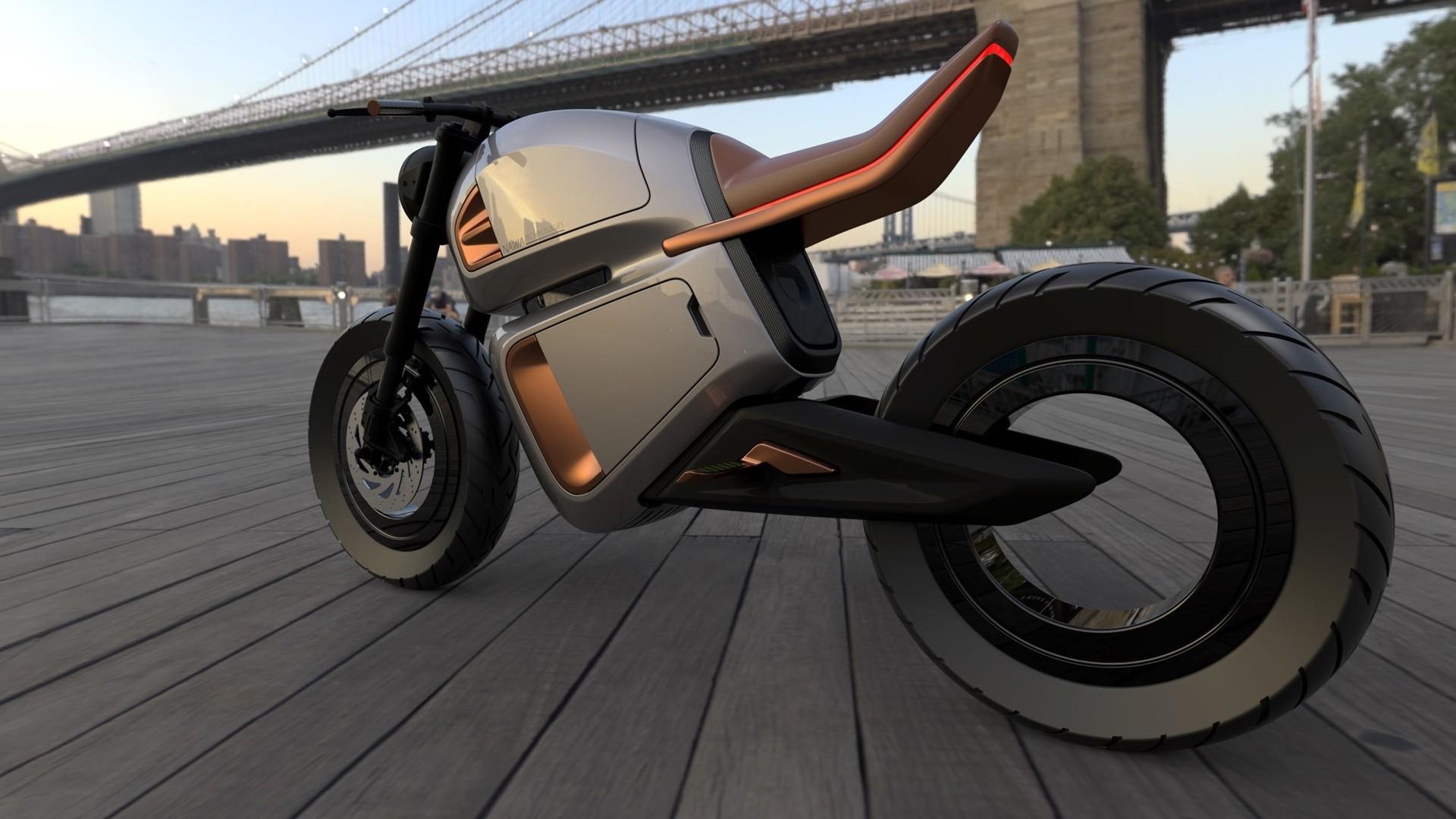 La NAWA Racer es la primera moto eléctrica en usar supercondensadores