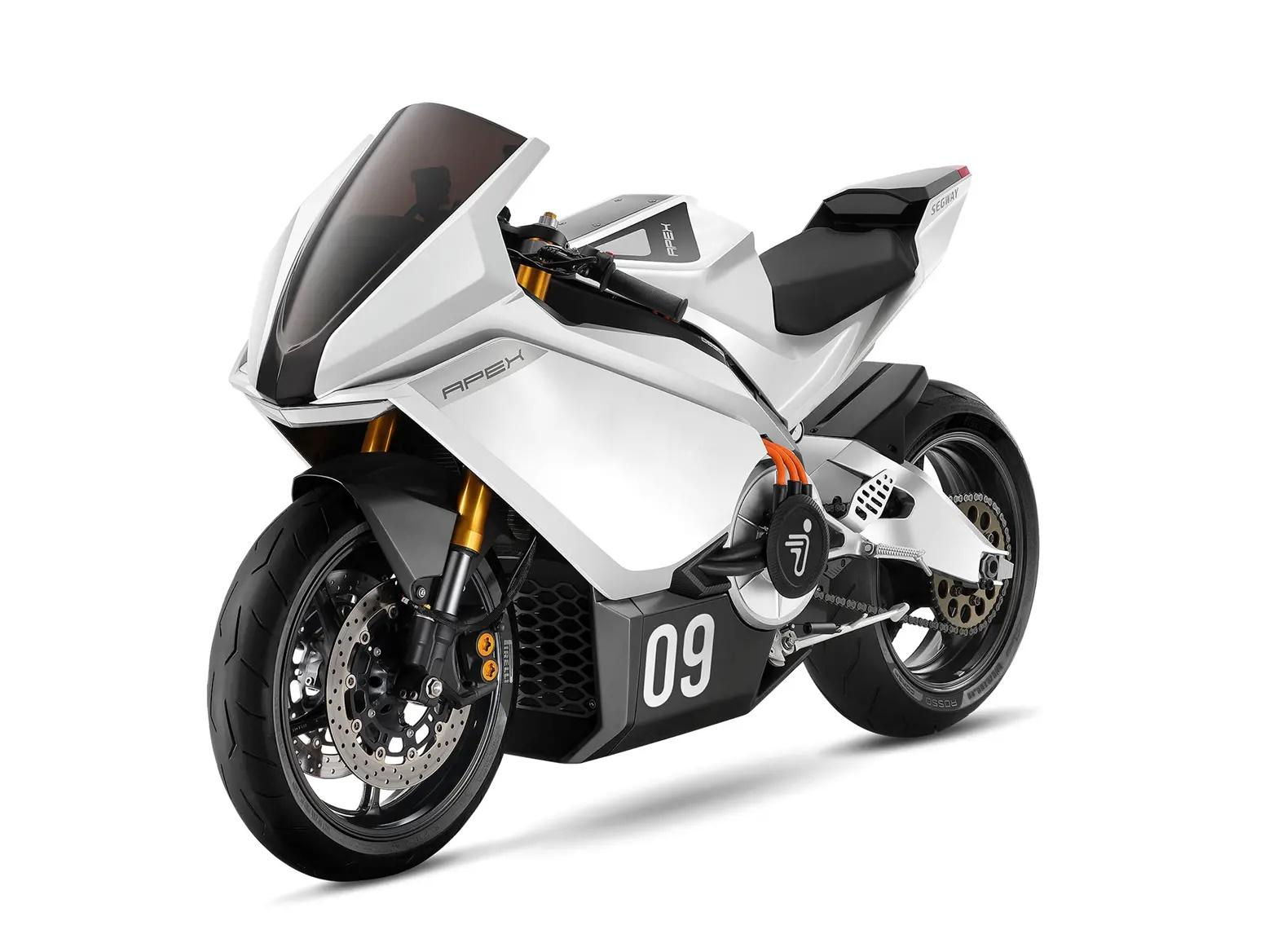 Segway Apex, el salto a las motocicletas deportivas eléctricas