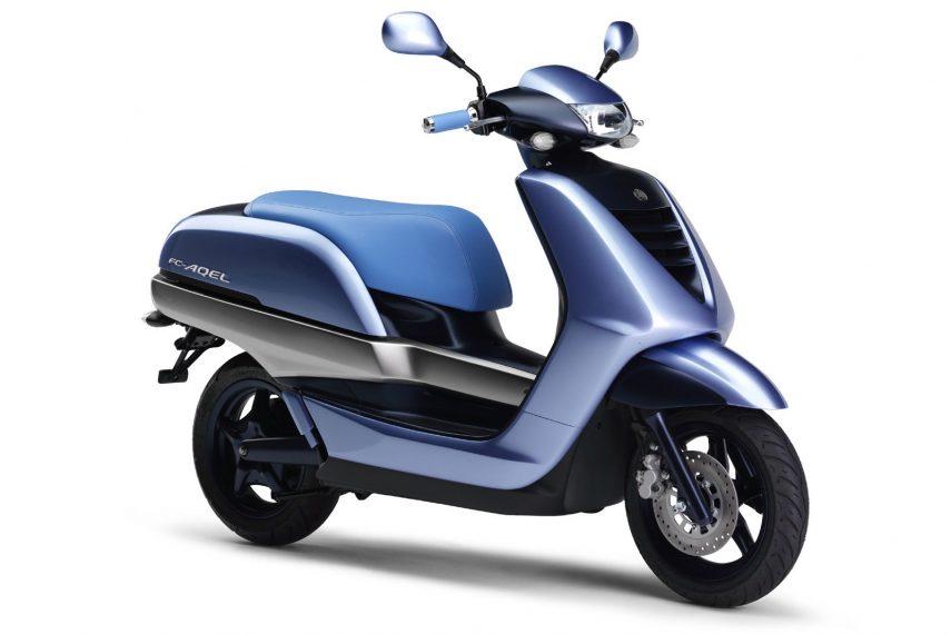 Moto del día: Yamaha FC-AQEL