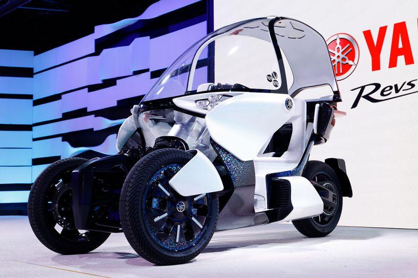 Yamaha MW-Vision, el prototipo de tres ruedas con techo