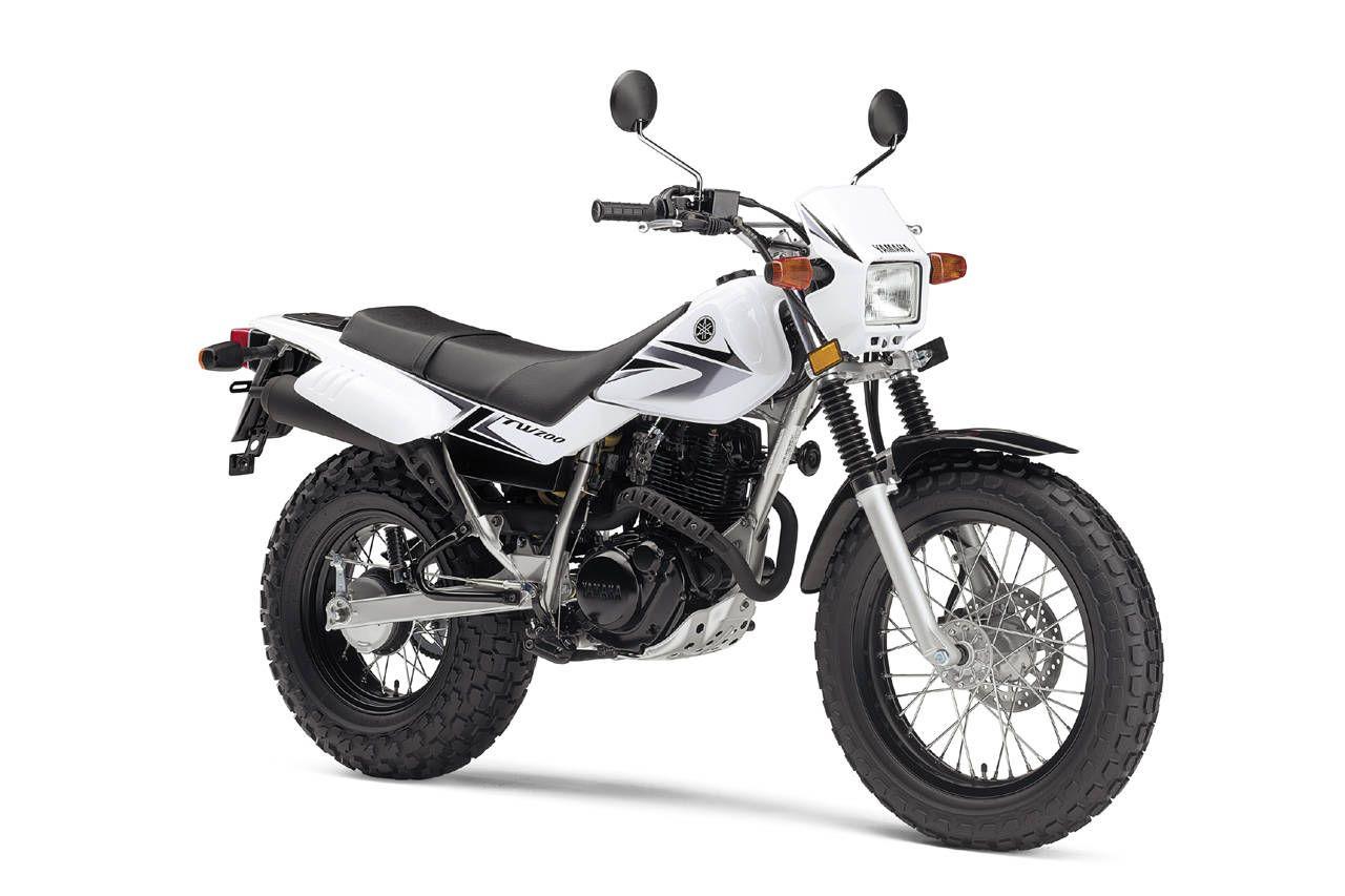 Moto del día: Yamaha TW 200
