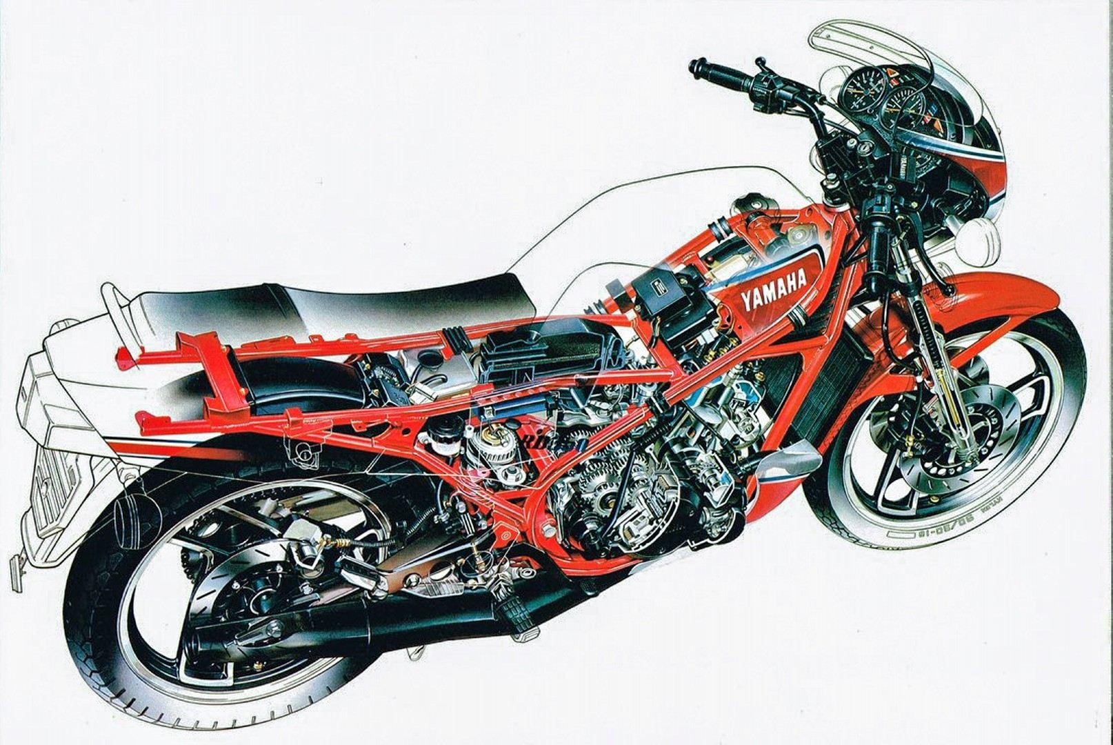 Yamha RZ 350 (1)