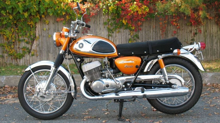 Moto del día: Suzuki T500