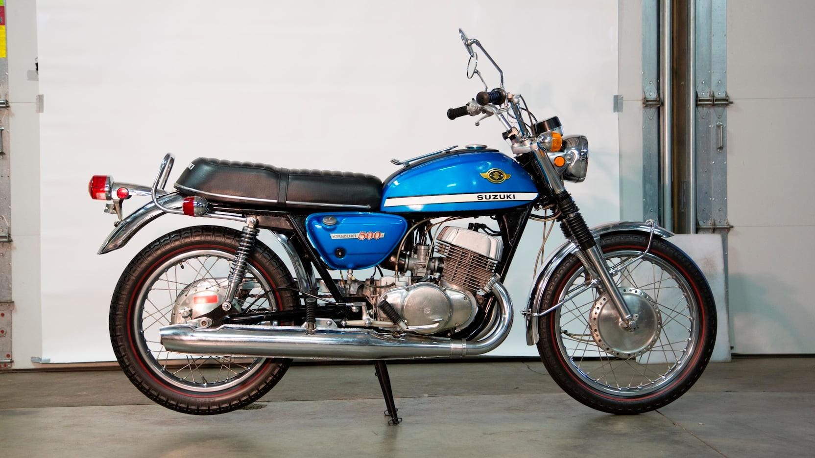 1970 Suzuki T500 R