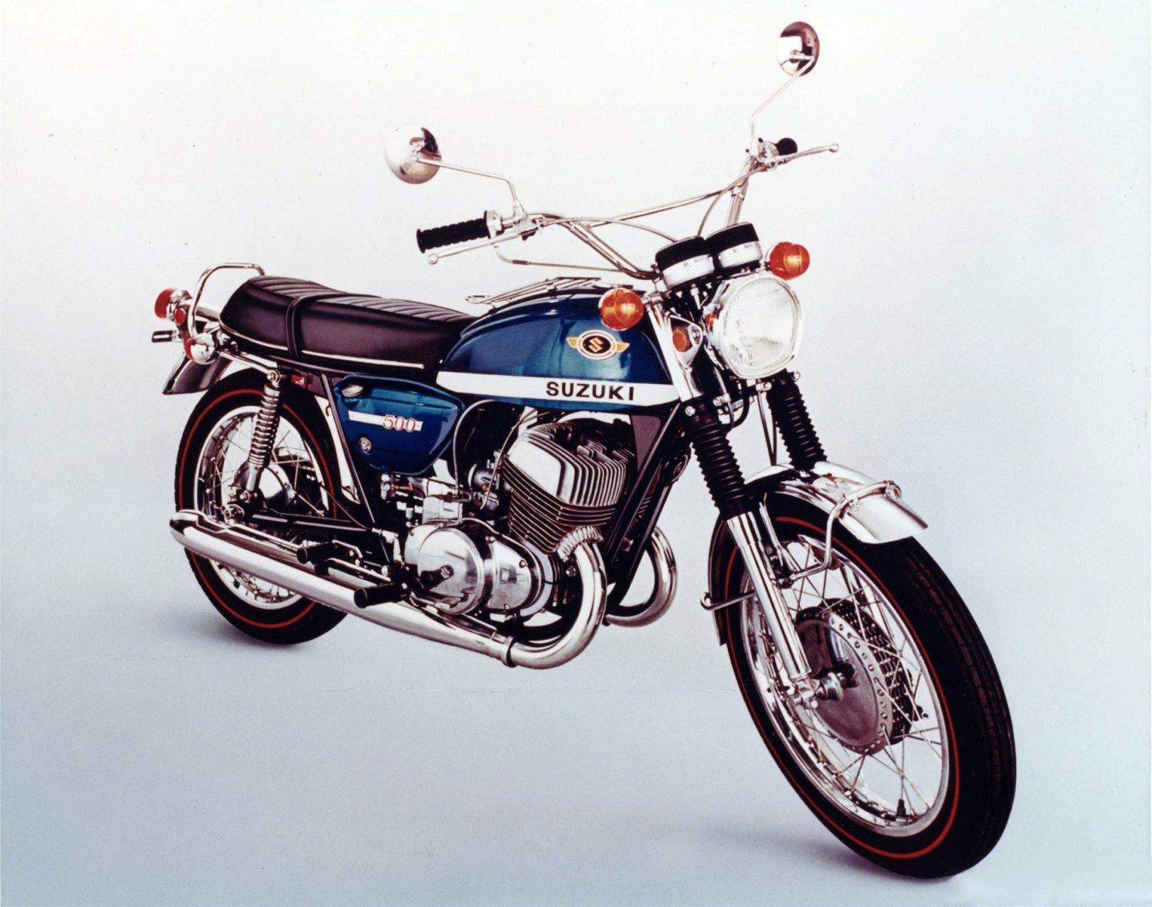 1972 Suzuki T500 III Titan