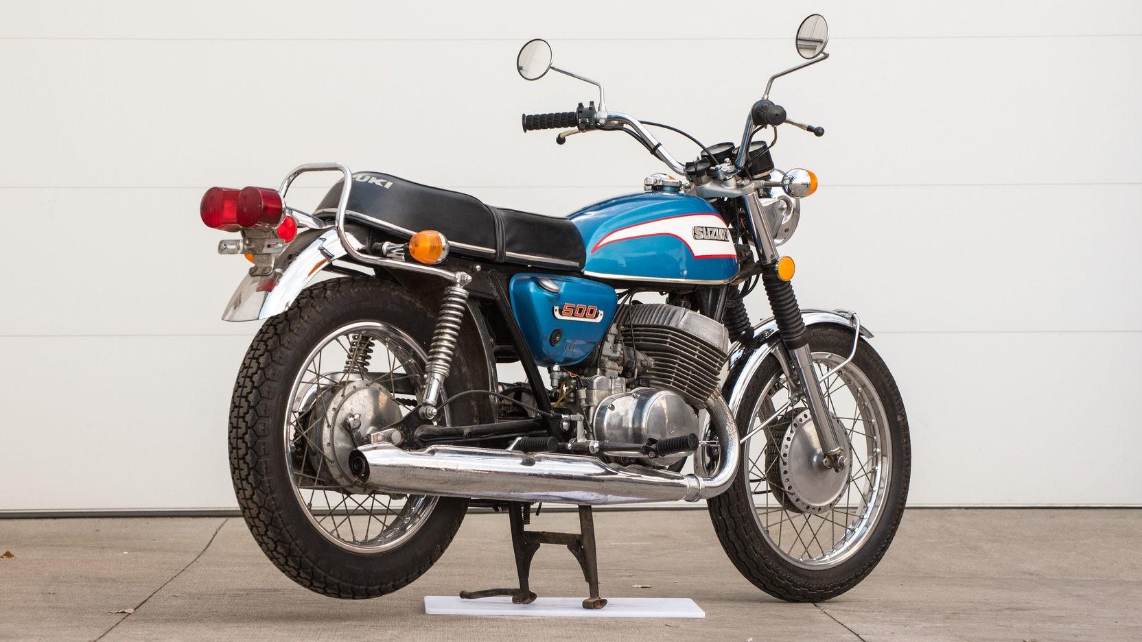 1973 Suzuki T500 K