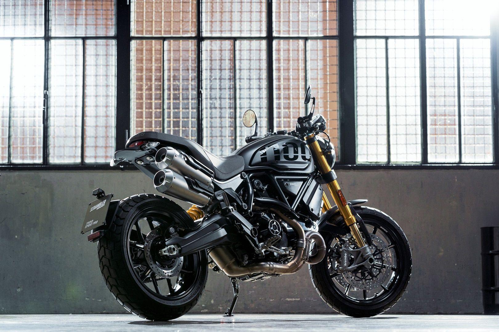 Desveladas las nuevas Ducati Scrambler 1100 PRO y 1100 Sport PRO