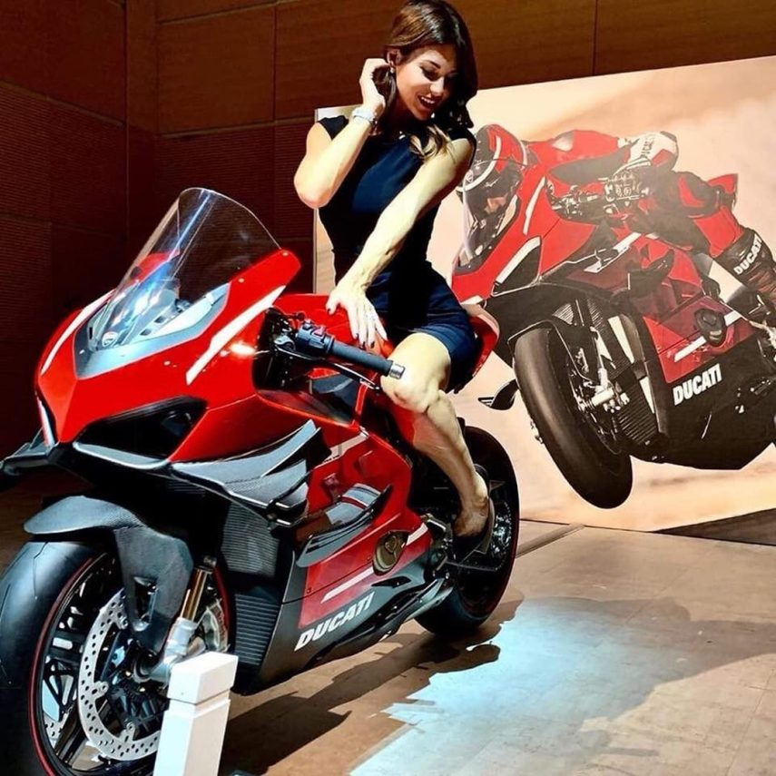 Se filtra la primera imagen de la Ducati Panigale V4 Superleggera