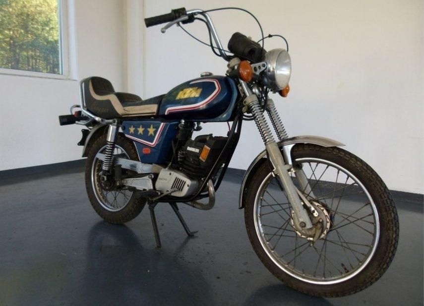Moto del día: KTM 80 LW «Chopper»