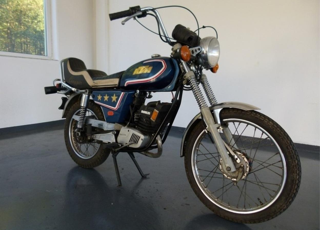 "Moto del día: KTM 80 LW ""Chopper"""