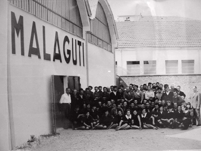 Malaguti history