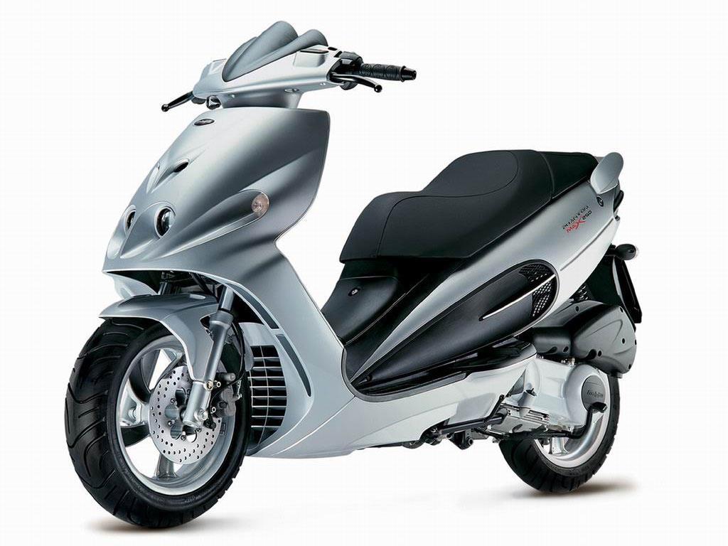 Moto del día: Malaguti Phantom Max 250